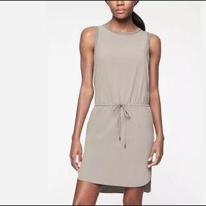 ATHLETA Rincon Dress Silver Grey NWT
